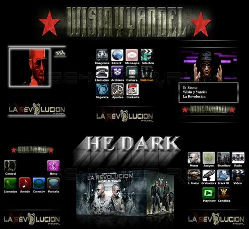 La Revolucion 2010: WISIN Y YANDEL - Mega Pack For Sony Ericsson 240x320 FL 1.1