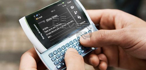 Sony Ericsson Vivaz pro: Первое знакомство