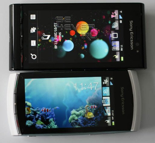 """""""Живые"""" фото и видео Sony Ericsson Vivaz Pro"""