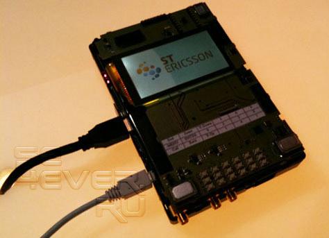 Видео демонстрация возможностей мобильной платформы ST-Ericsson U8500