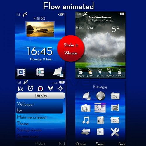 Flow Animated - Mega Pack For Sony Ericsson A200v2