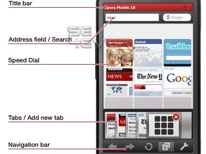 Opera Mobile v.10 Final - Браузер для смартфонов Symbian 9.x