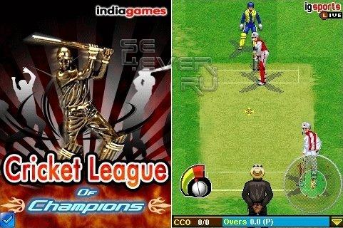 Cricket League Of Champions - java игра