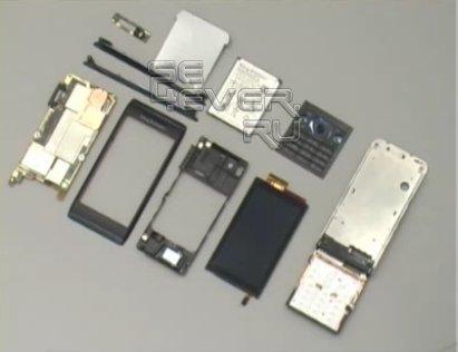 Разборка и сборка Sony Ericsson Aino