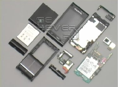 Разборка и сборка Sony Ericsson Satio