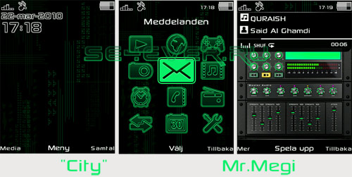 City - Mini Pack For Sony Ericsson DB2020 240x320