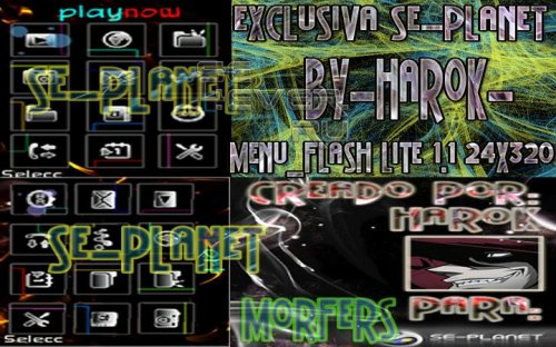 Morfer´s - Flash Theme For Sony Ericsson 240x320