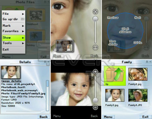 PhotoBook - Редактор фотографий на Symbian9!