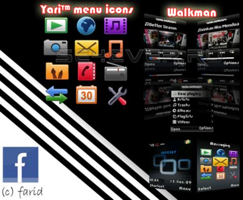 ClassyBlack - Mega Pack For Sony Ericsson W200 RH4A014