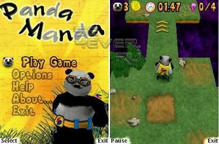 Panda Manda - Игра для Symbian 9