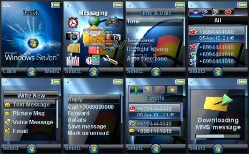 Windows7 - тема для Sony Ericsson 128x160