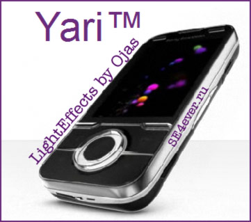 LightEffects for Sony Ericsson Yari (U100i)