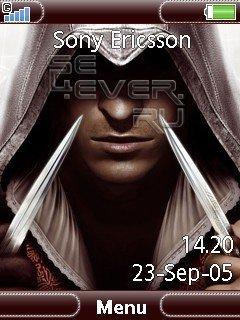 Ezio Auditore da Firenze - Theme For Sony Ericsson 240x320
