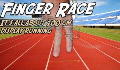 Finger Race - Скачать игру для SE Vivaz, Satio...