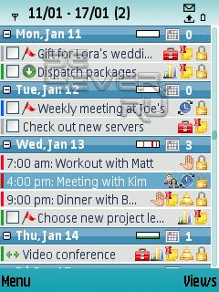 SBSH Mobile Calendar - Календарь-планировщик для Vivaz, Satio...