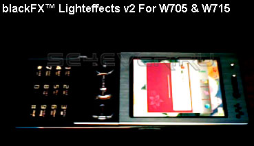 Blackfx™ Lighteffects For Sony Ericsson W705 / W715
