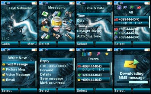 Unreal - Тема для Sony Ericsson 176x220