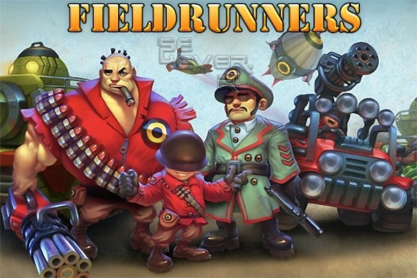 Новая версия Fieldrunners 1.3.1 - игра стиля Tower Defense.