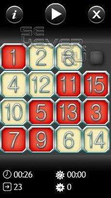 Fifteen-игра для Symbian 9.4