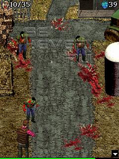 Zombie Clash - java игра