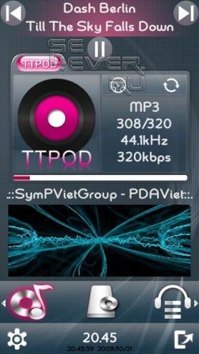TTPod - плеер для Symbian 9.4 / Symbian^3