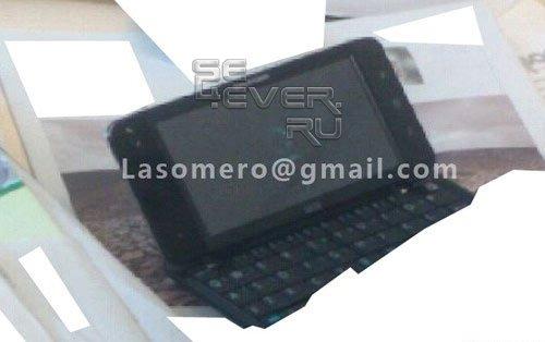 Sony Ericsson готовит QWERTY Android-смартфон с 5-дюймовым экраном? Слухи.