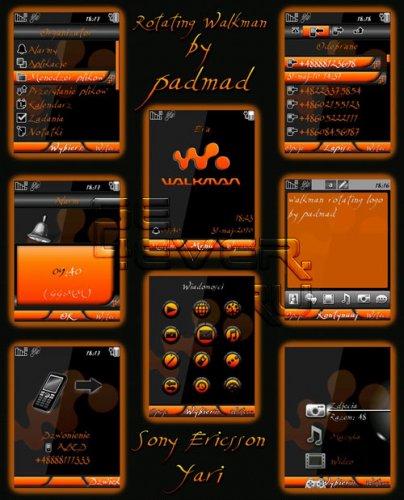 Rotating Walkman - Флэш тема для Yari / Elm / Hazel / Zylo