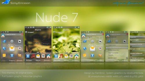 Nude 7 - Тема с системной графикой для UIQ3