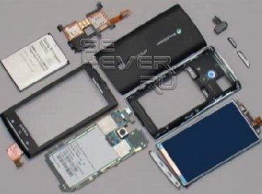 Разборка и сборка Sony Ericsson x10