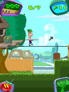 Финес и Ферб / Phineas and Ferb - Скачать java игру
