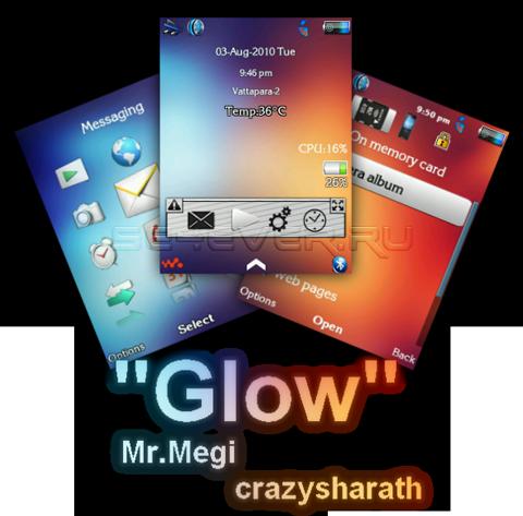 Glow - Theme + Flash Menu For SE A200