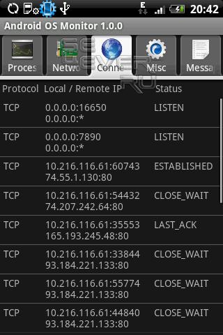 Android OS Monitor - Программа для Андроид