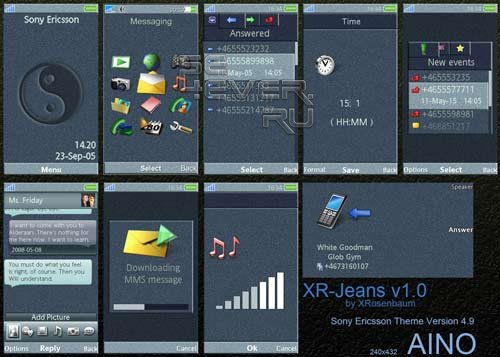 XR-Jeans - Sony Ericsson Aino Theme