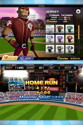 Homerun Battle 3D - Скачать игру для Android 1.6+