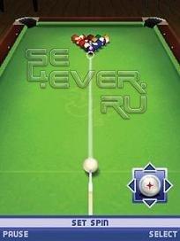 The Sims Pool 3D - java игра для Sony Ericsson