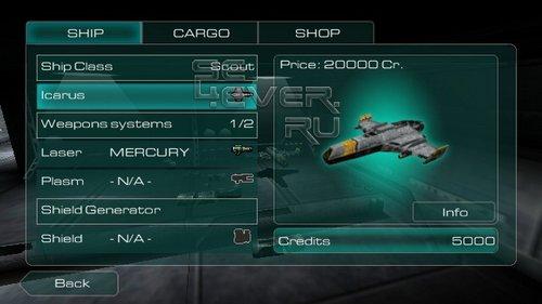 Galaxy on Fire - SIS игра для Sony Ericsson Vivaz / Satio