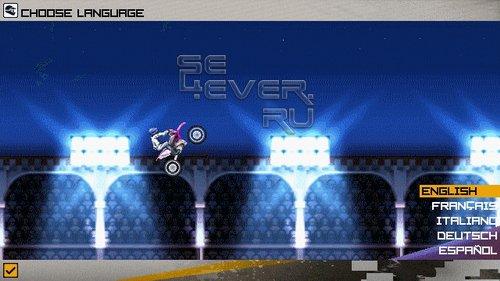 Red Bull Motocross - java игра