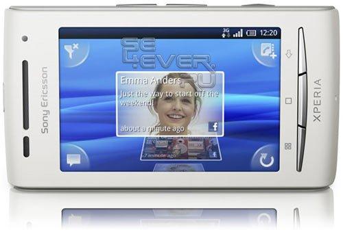 Обзор Sony Ericsson XPERIA X8 - доступного Android смартфона