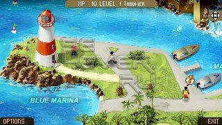 The Big Roll in Paradise 1.03 - SIS игра для Sony Ericsson Vivaz / Satio