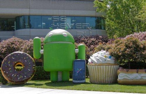 Android 4.0 получит название Ice Cream