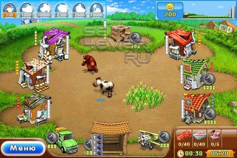 Играть стратегия строительство фермы