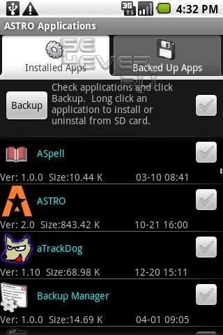ASTRO - Продвинутый файловый менеджер для Android