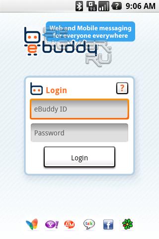 eBuddy IM - Мультипротокольный клиент для Android