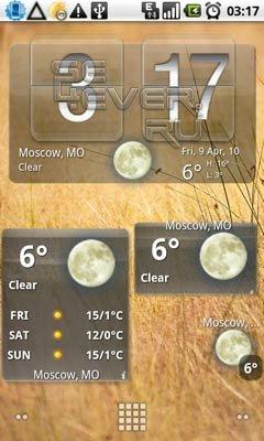 Weather & Toggle Widget (Weather Widget) - Виджеты для Android