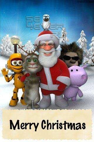 Talking Santa Free - Говорящий Санта для Android