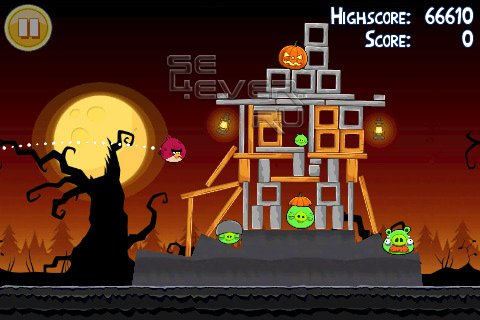 Angry Birds Seasons - Новая Игра для Android