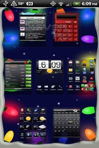 Christmas Lights LiveWallpaper - Рождественские живые обои для Android