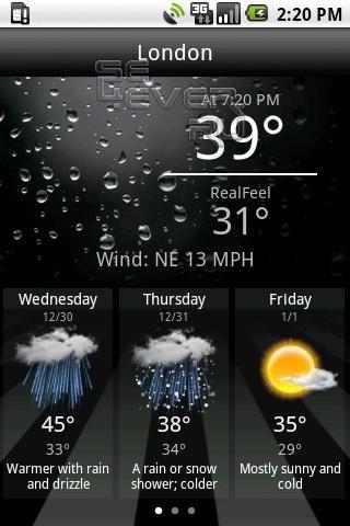скачать программу погода на андроид - фото 6