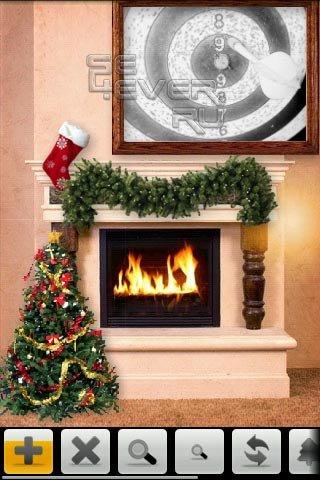 Xmas Fireplace - Новогодний камин для Android