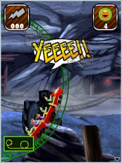 Rollercoaster Rush Underground 3D - Java Игра
